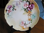 Click here to enlarge image and see more about item limoges90525y: Haviland French Limoges Display Plate