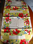 Click here to enlarge image and see more about item linen50818: Vintage Kitchen Towel