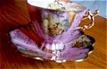 Click here to enlarge image and see more about item linmark90525: Linmark Lustre Pedestal Teacup