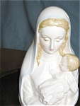 Click here to enlarge image and see more about item madon11031: Fine Quality Madonna Head Vase