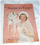 Click here to enlarge image and see more about item mag01031: Vintage American Family Magazine