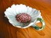 Click to view larger image of Vintage Majolica Style Butter Pat (Image8)