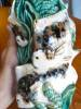 Click to view larger image of Art Pottery Fish Wallpocket (Image4)