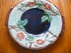 Click to view larger image of Majolica Antique Rose and Rope Platter (Image4)