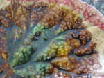 Click to view larger image of Antique Majolica Leaf Tray (Image2)