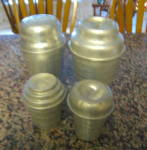 Click to view larger image of Vintage Malt Mixer Gravy Shakers (Image1)