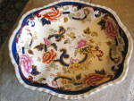 Click here to enlarge image and see more about item masons0715: Mason's Ironstone Mandalay Shallow Bowl