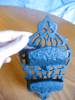 Click to view larger image of Vintage Ornate Cast Iron Matchsafe (Image5)