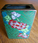 Click here to enlarge image and see more about item matchsafe20728: Oriental Cloisonne Matchsafe