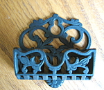 Antique Cast Iron Matchsafe