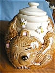 Click here to enlarge image and see more about item mccoy10620: Vintage McCoy Bear Cookie Jar