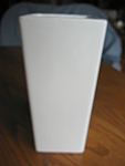 Click to view larger image of McCoy Pottery Matte White Vase (Image1)