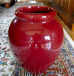 Click here to enlarge image and see more about item mccoy53009: Vintage McCoy Pottery Oil Jar