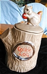 Click here to enlarge image and see more about item mccoy80417: Vintage McCoy Squirrel Cookie Jar