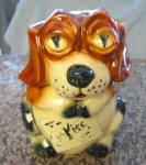 Click here to enlarge image and see more about item mccoycookie010511a: McCoy Cookie Jar Vintage Beagle