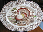 Click here to enlarge image and see more about item meakin20717: Alfred Meakin Staffordshire Large Turkey Platter