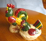 Click to view larger image of Metlox California Vintage Rooster Shakers (Image2)