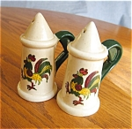 Click here to enlarge image and see more about item metlox40620: Vintage Metlox Provincial Shakers