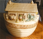 Click here to enlarge image and see more about item metlox60508: Metlox Poppytrail Noah's Ark Cookie Jar