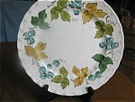 Click here to enlarge image and see more about item metlox80519c: Three Metlox Vineyard Salad Plates