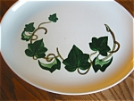 Click here to enlarge image and see more about item metlox90521: Vintage Metlox Ivy Platter