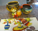 Click here to enlarge image and see more about item mexicanpots1013: Vintage Mexican