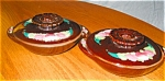 Click here to enlarge image and see more about item mij06061: Two Vintage Ceramic Bowls