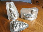 Click to view larger image of Antique Chocolate Molds (Image1)