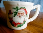 Click here to enlarge image and see more about item mug10505: Vintage USA Santa Mug