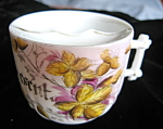 Click here to enlarge image and see more about item mug20725: Vintage Apresent Mustache Mug