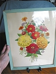 Click here to enlarge image and see more about item mums10031: Vintage Floral Flower Print