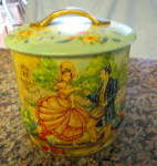 Click to view larger image of Vintage Murray Allen English Tin (Image3)