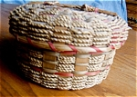 Click here to enlarge image and see more about item native205251: Vintage Native American Basket