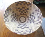Click here to enlarge image and see more about item nativebasket0216: Large Native Bowl Basket