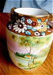 Click here to enlarge image and see more about item nippon30622: Nippon Hand Painted Vase