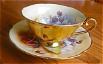 Click here to enlarge image and see more about item occjapan80520a: Vintage Occupied Japan Teacup