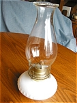 Click here to enlarge image and see more about item oil10512: Eagle Vintage Oil Lamp