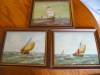 Click to view larger image of Three Holland Oil Paintings - Sailing Ships (Image6)