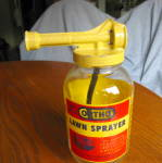 Click here to enlarge image and see more about item orthosprayer060710: Vintage Orhto Lawn Sprayer Bottle