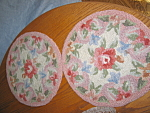 Click here to enlarge image and see more about item pads70807: Vintage Chair Pads