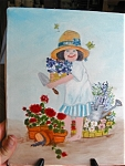 Click here to enlarge image and see more about item painting110409: Oil Painting