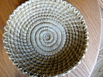 Click here to enlarge image and see more about item papago101308: Vintage Papago Basket