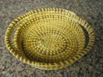 Click to view larger image of Papago Basket Oval Tray Bowl (Image3)