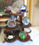 Click to view larger image of Art Glass Signed Paperweight (Image7)