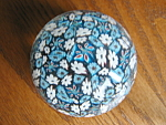Click here to enlarge image and see more about item paperweight10866: Murano Millefiori Paperweight