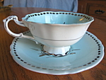 Click here to enlarge image and see more about item paragon1085: Vintage Paragon QM Teacup