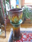 Click to view larger image of Antique Pottery Pedestal (Image4)