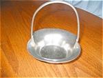 Click to view larger image of Pilgrim Vintage Pewter Basket (Image1)