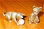 Click here to enlarge image and see more about item pew09095: Miniature Cats