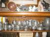 Click to view larger image of Vintage White Pewter Creamer and Sugar (Image7)